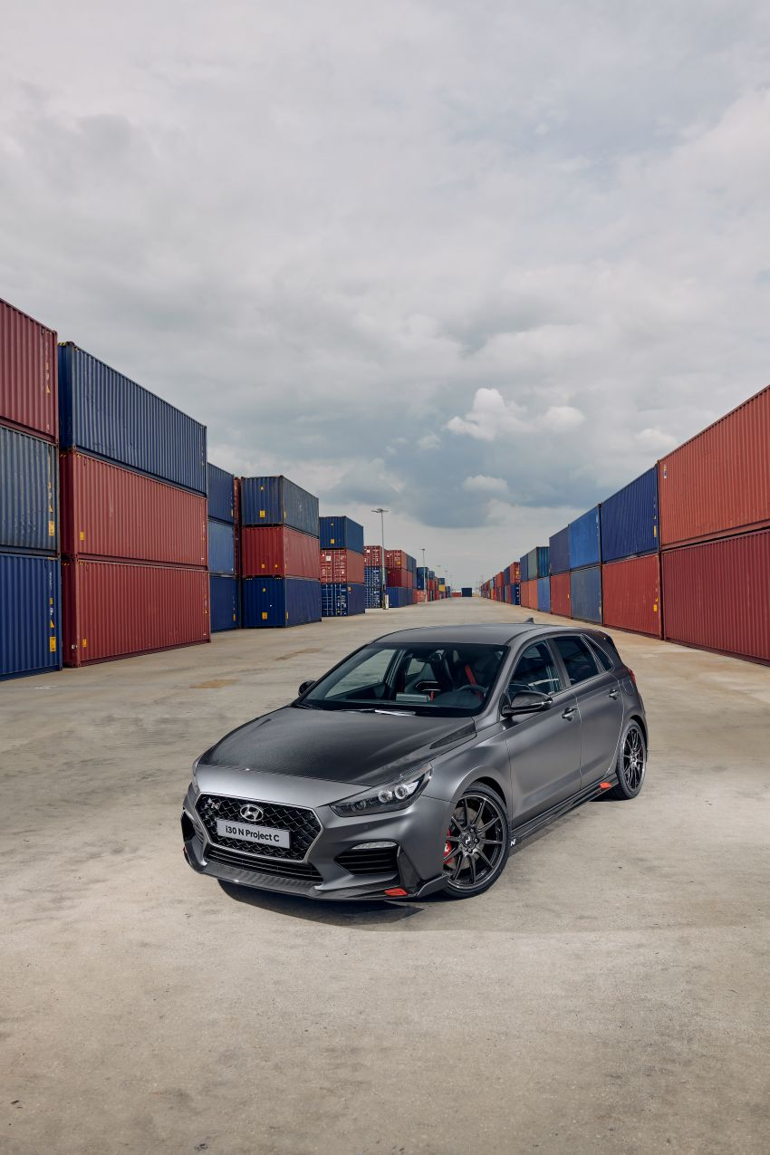 Hyundai i30N Project C – edisi terhad lebih <em>hardcore</em>; banyak komponen karbon, suspensi ditala semula Image #1014188