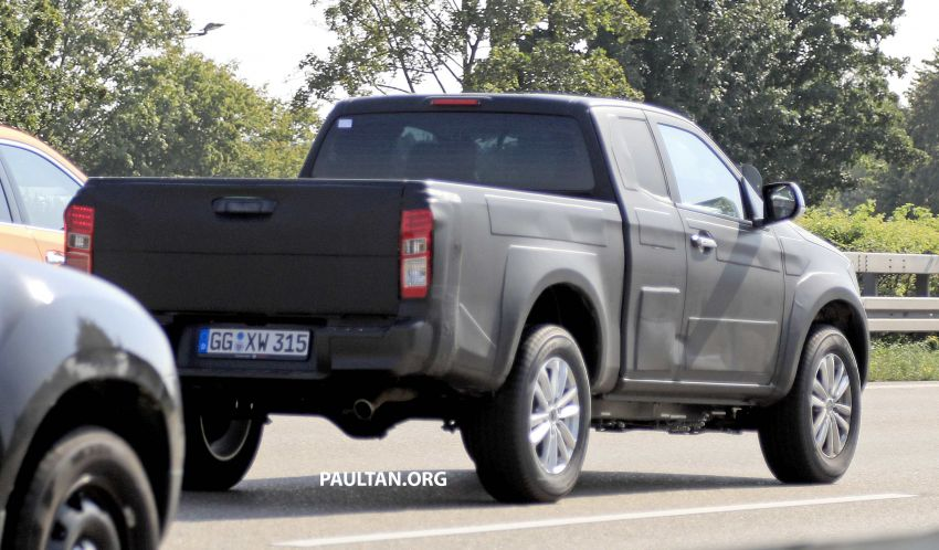 SPYSHOTS: Third-gen Isuzu D-Max spotted in Europe Image #1009826