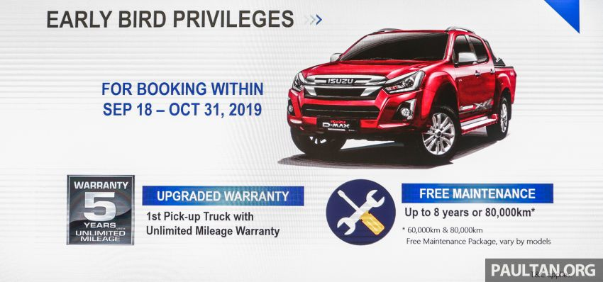 2019 Isuzu D-Max facelift launched – new 150 PS/350 Nm 1.9L Ddi, six airbags for 3.0L, RM80k to RM121k Image #1017959