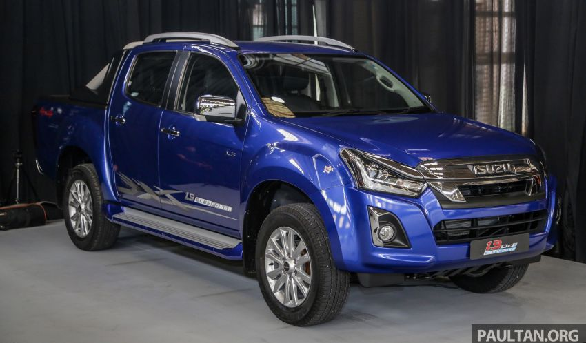 2019 Isuzu D-Max facelift launched in Malaysia – new 150 PS/350 Nm 1.9L Ddi; priced from RM80k-RM121k Image #1016917