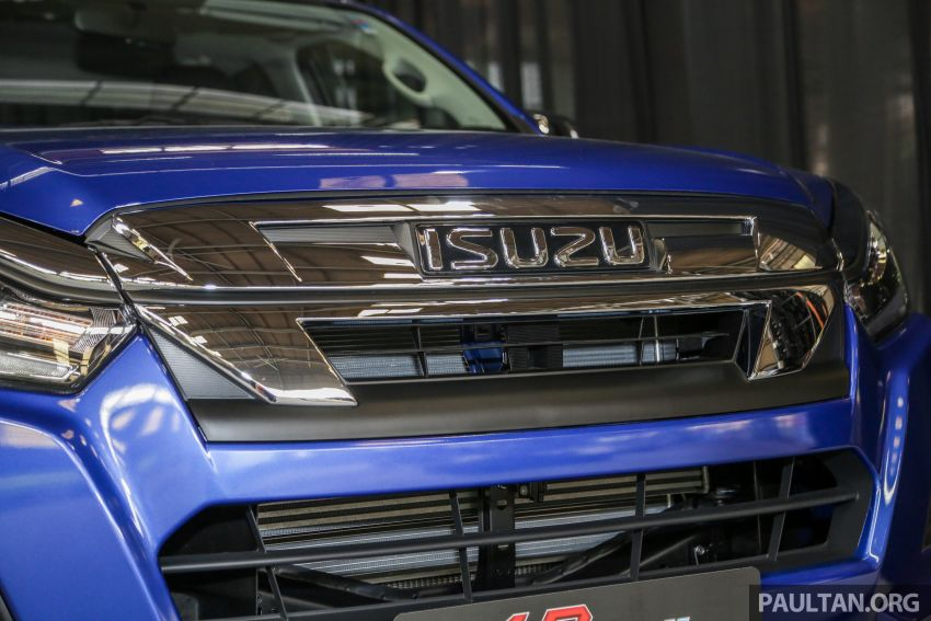 2019 Isuzu D-Max facelift launched – new 150 PS/350 Nm 1.9L Ddi, six airbags for 3.0L, RM80k to RM121k Image #1016960