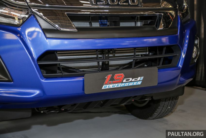 2019 Isuzu D-Max facelift launched – new 150 PS/350 Nm 1.9L Ddi, six airbags for 3.0L, RM80k to RM121k Image #1016969