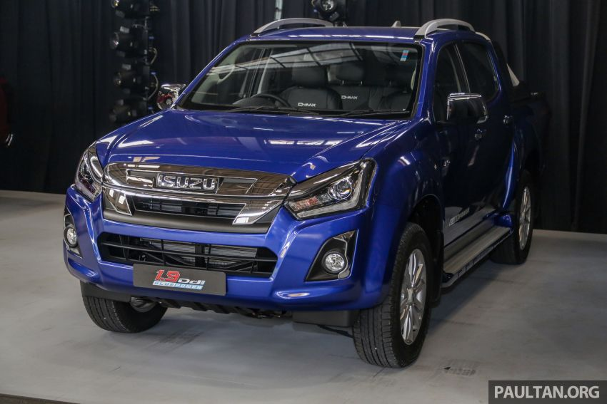 2019 Isuzu D-Max facelift launched – new 150 PS/350 Nm 1.9L Ddi, six airbags for 3.0L, RM80k to RM121k Image #1016923