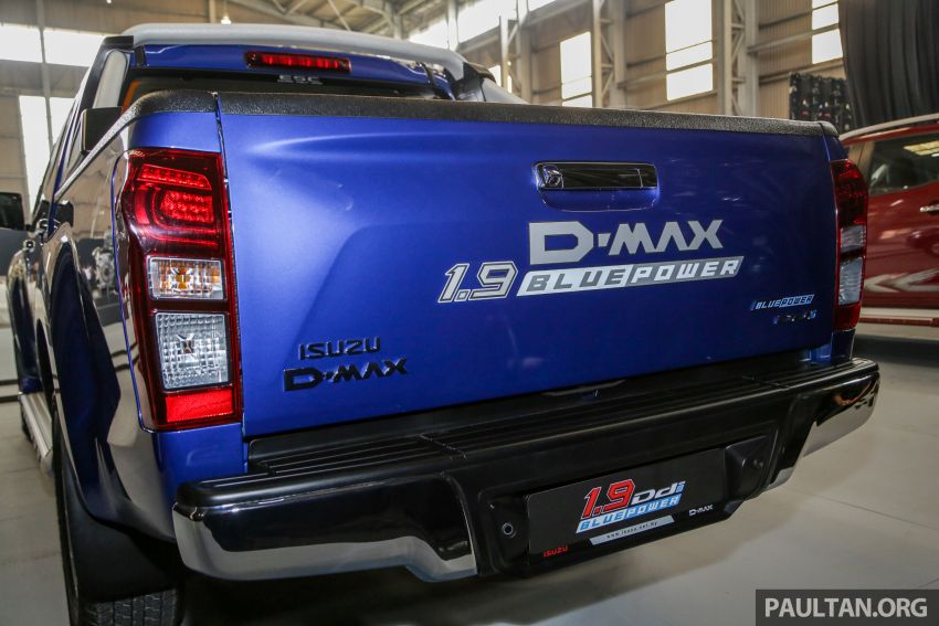 2019 Isuzu D-Max facelift launched in Malaysia – new 150 PS/350 Nm 1.9L Ddi; priced from RM80k-RM121k Image #1017018