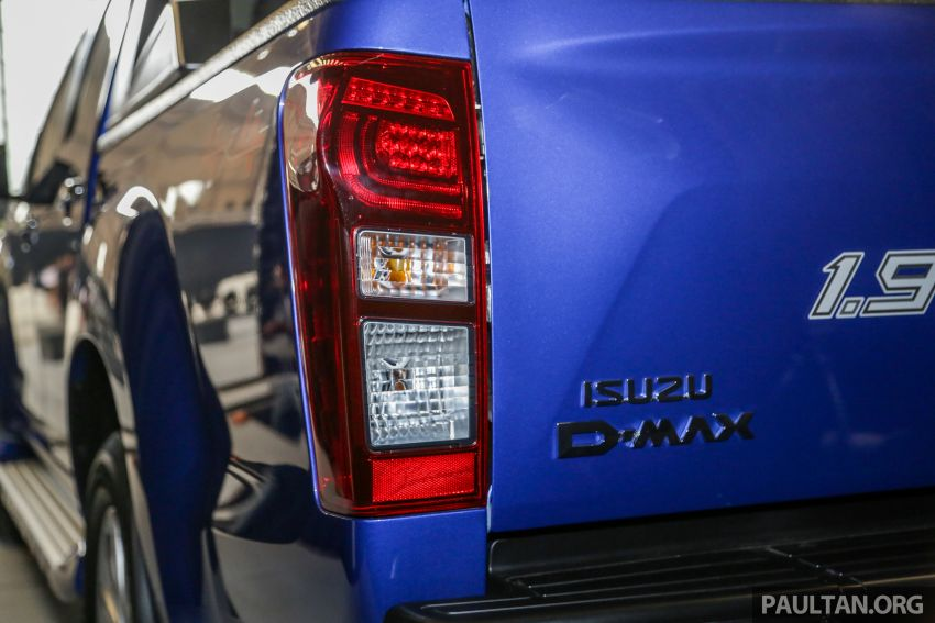 2019 Isuzu D-Max facelift launched – new 150 PS/350 Nm 1.9L Ddi, six airbags for 3.0L, RM80k to RM121k Image #1017022