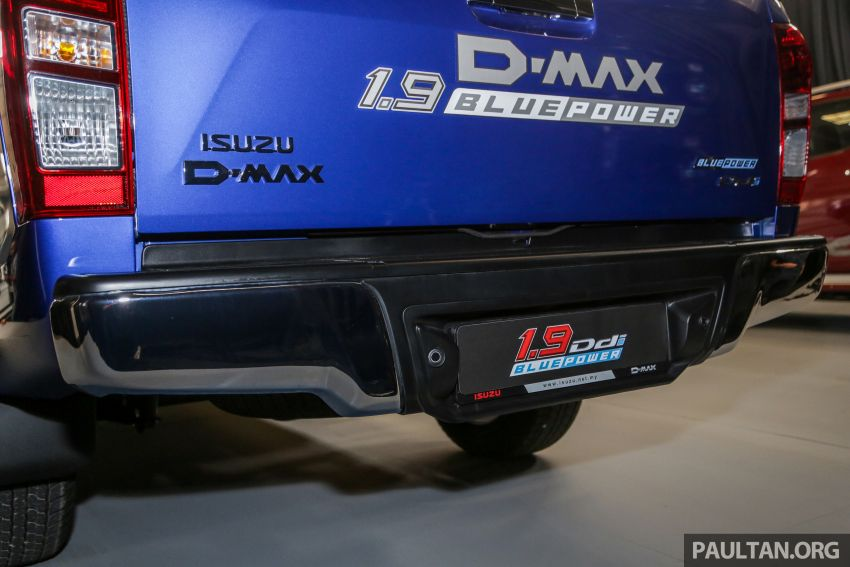 2019 Isuzu D-Max facelift launched – new 150 PS/350 Nm 1.9L Ddi, six airbags for 3.0L, RM80k to RM121k Image #1017030