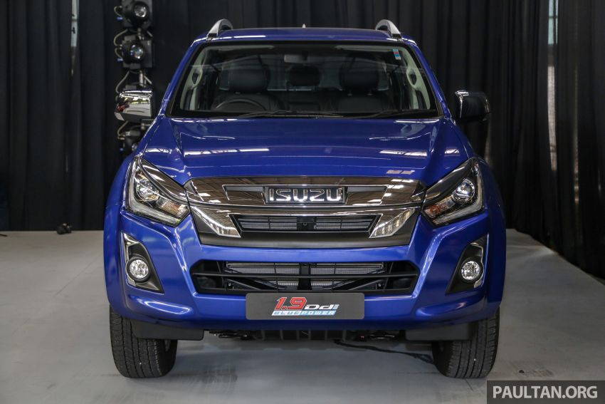 2019 Isuzu D-Max facelift launched – new 150 PS/350 Nm 1.9L Ddi, six airbags for 3.0L, RM80k to RM121k Image #1016929