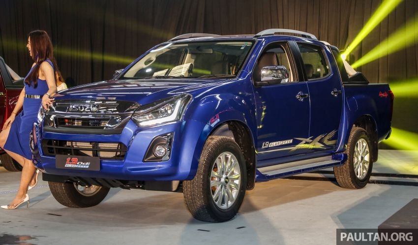 2019 Isuzu D-Max facelift launched – new 150 PS/350 Nm 1.9L Ddi, six airbags for 3.0L, RM80k to RM121k Image #1017960