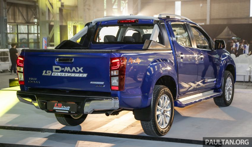 2019 Isuzu D-Max facelift launched – new 150 PS/350 Nm 1.9L Ddi, six airbags for 3.0L, RM80k to RM121k Image #1017962