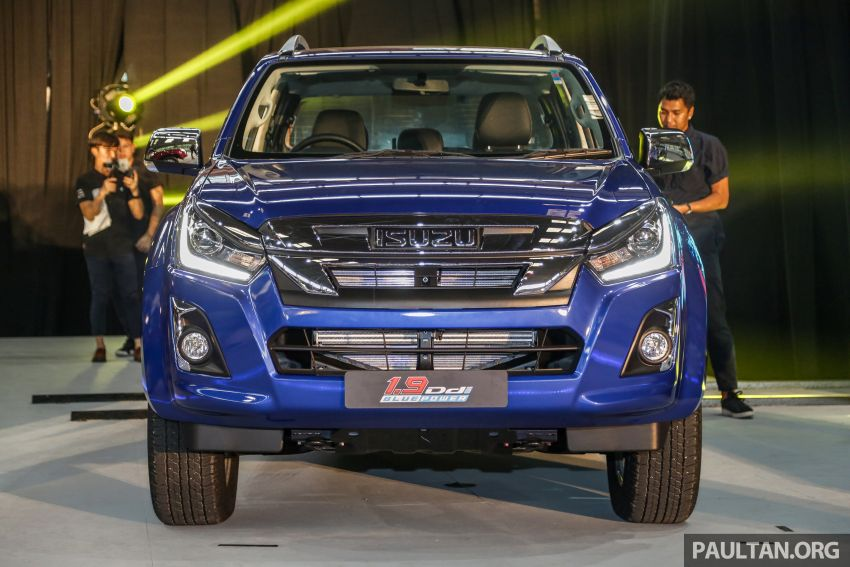 2019 Isuzu D-Max facelift launched – new 150 PS/350 Nm 1.9L Ddi, six airbags for 3.0L, RM80k to RM121k Image #1017963