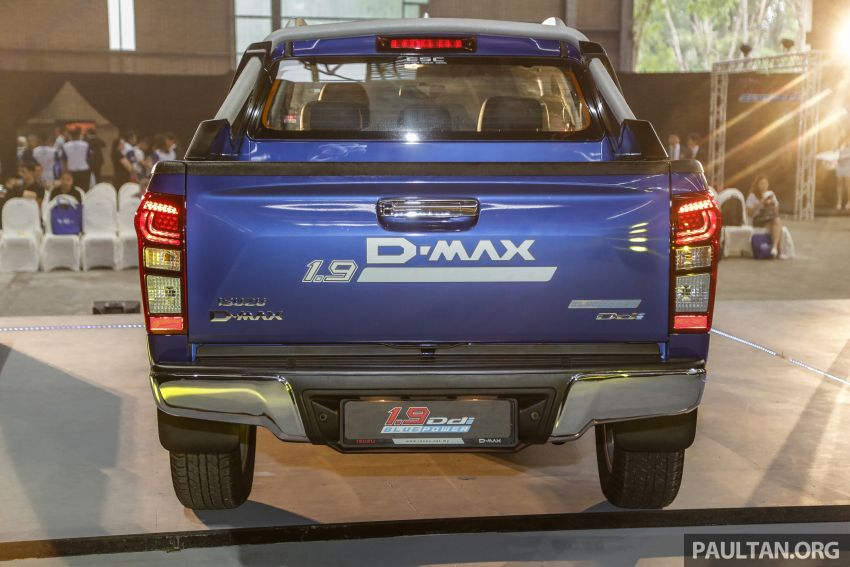 2019 Isuzu D-Max facelift launched – new 150 PS/350 Nm 1.9L Ddi, six airbags for 3.0L, RM80k to RM121k Image #1017964