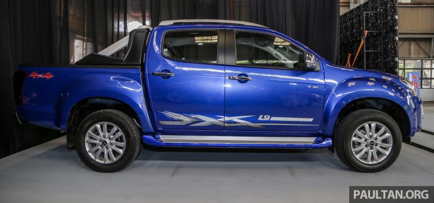 2019 Isuzu D-Max facelift launched – new 150 PS/350 Nm 1.9L Ddi, six airbags for 3.0L, RM80k to RM121k Image #1016937