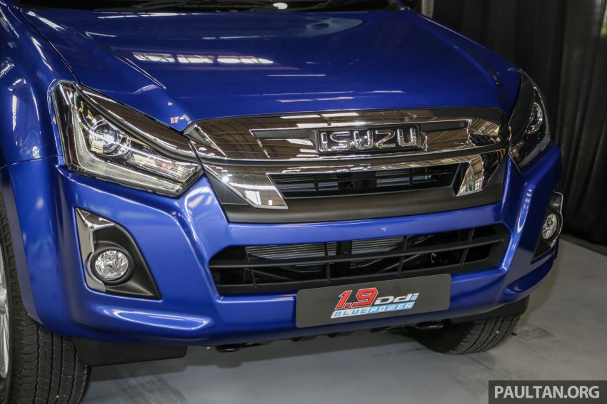 2019 Isuzu D-Max facelift launched in Malaysia – new 150 PS/350 Nm 1.9L Ddi; priced from RM80k-RM121k Image #1016941