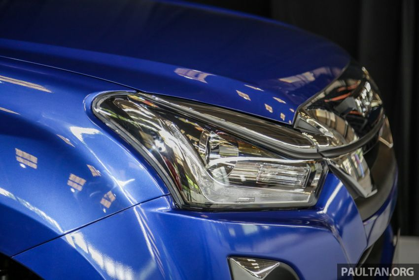 2019 Isuzu D-Max facelift launched – new 150 PS/350 Nm 1.9L Ddi, six airbags for 3.0L, RM80k to RM121k Image #1016952