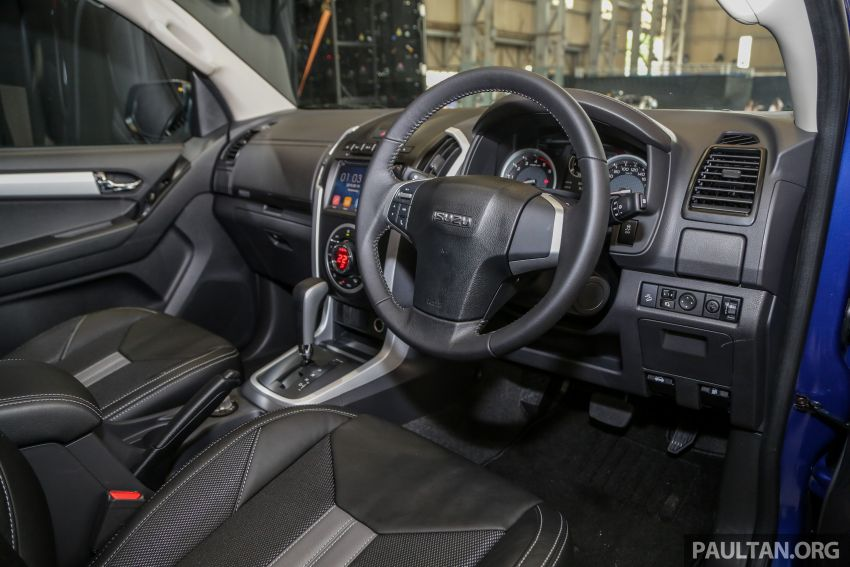 2019 Isuzu D-Max facelift launched – new 150 PS/350 Nm 1.9L Ddi, six airbags for 3.0L, RM80k to RM121k Image #1017045