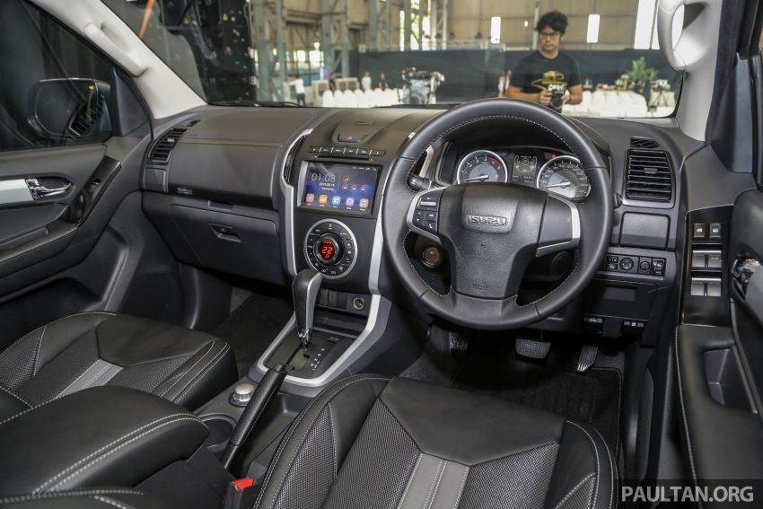 2019 Isuzu D-Max facelift launched – new 150 PS/350 Nm 1.9L Ddi, six airbags for 3.0L, RM80k to RM121k Image #1017089