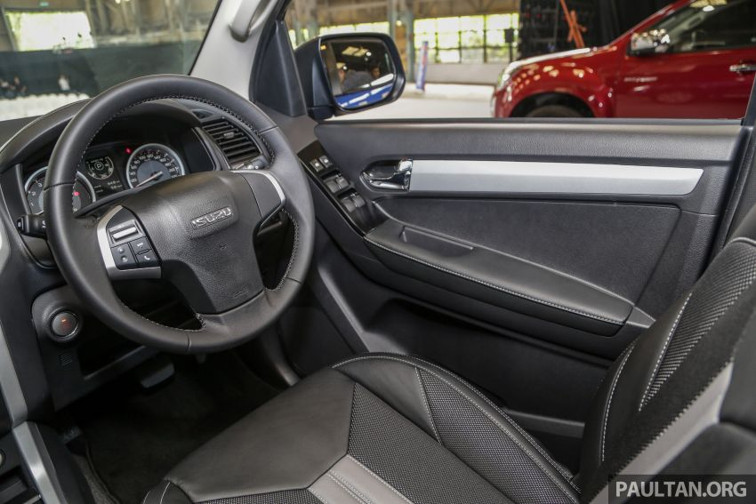 2019 Isuzu D-Max facelift launched – new 150 PS/350 Nm 1.9L Ddi, six airbags for 3.0L, RM80k to RM121k Image #1017090