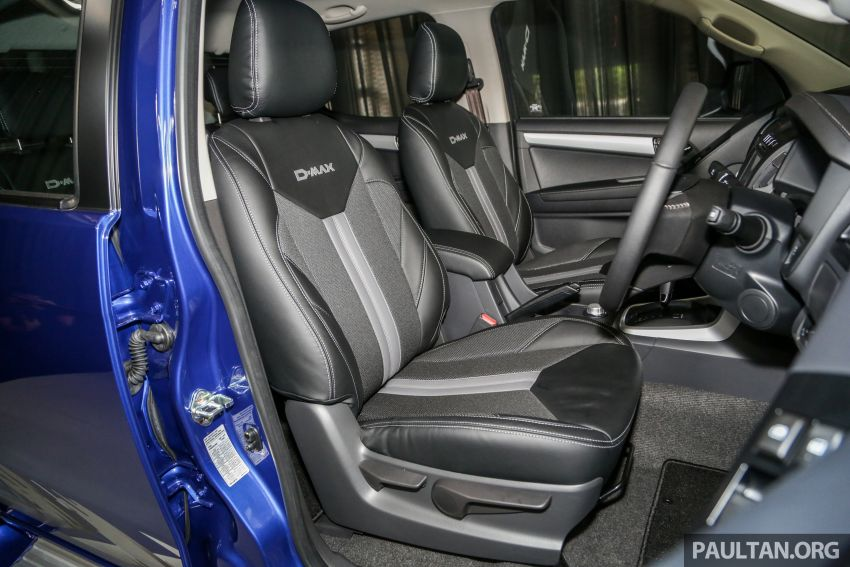 2019 Isuzu D-Max facelift launched – new 150 PS/350 Nm 1.9L Ddi, six airbags for 3.0L, RM80k to RM121k Image #1017096