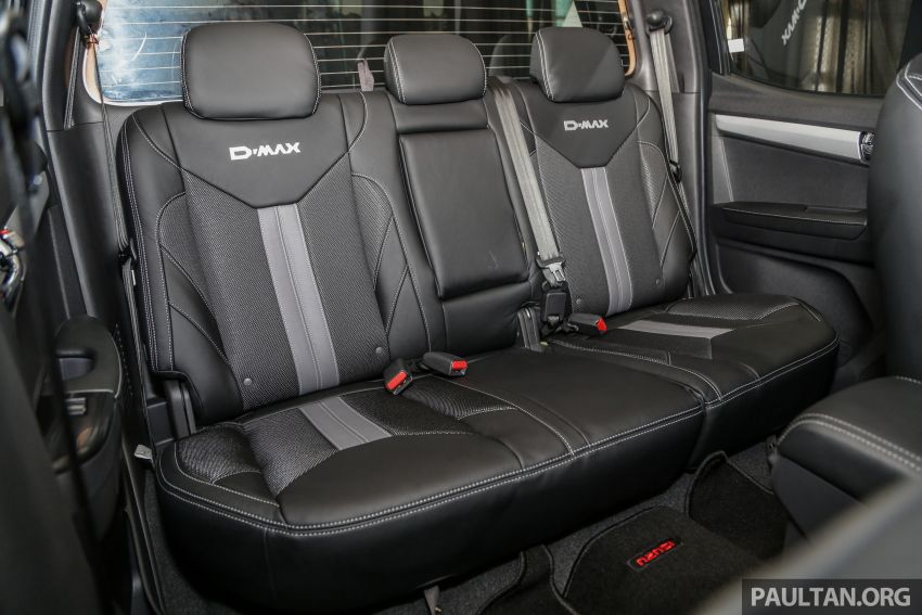 2019 Isuzu D-Max facelift launched – new 150 PS/350 Nm 1.9L Ddi, six airbags for 3.0L, RM80k to RM121k Image #1017105