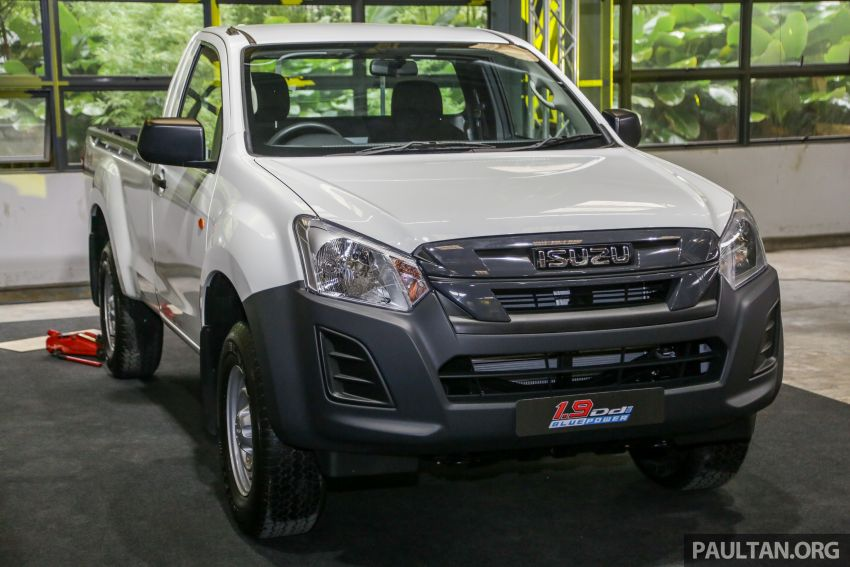 2019 Isuzu D-Max facelift launched – new 150 PS/350 Nm 1.9L Ddi, six airbags for 3.0L, RM80k to RM121k Image #1017884