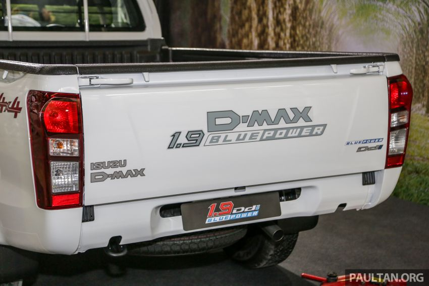 2019 Isuzu D-Max facelift launched in Malaysia – new 150 PS/350 Nm 1.9L Ddi; priced from RM80k-RM121k Image #1017897