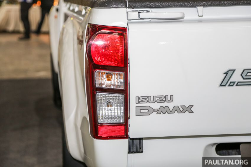 2019 Isuzu D-Max facelift launched – new 150 PS/350 Nm 1.9L Ddi, six airbags for 3.0L, RM80k to RM121k Image #1017898