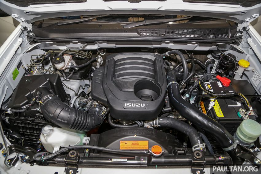 2019 Isuzu D-Max facelift launched – new 150 PS/350 Nm 1.9L Ddi, six airbags for 3.0L, RM80k to RM121k Image #1017902