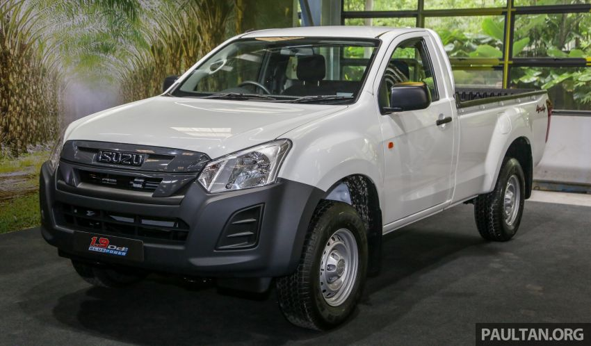 2019 Isuzu D-Max facelift launched – new 150 PS/350 Nm 1.9L Ddi, six airbags for 3.0L, RM80k to RM121k Image #1017885