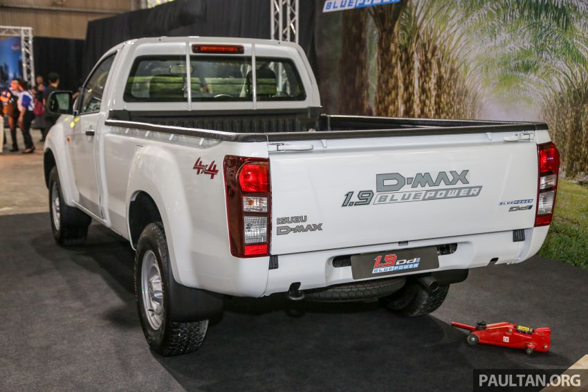 2019 Isuzu D-Max facelift launched in Malaysia – new 150 PS/350 Nm 1.9L Ddi; priced from RM80k-RM121k Image #1017887