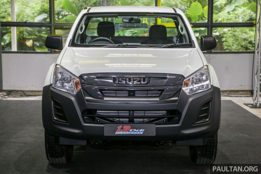 2019 Isuzu D-Max facelift launched – new 150 PS/350 Nm 1.9L Ddi, six airbags for 3.0L, RM80k to RM121k Image #1017888
