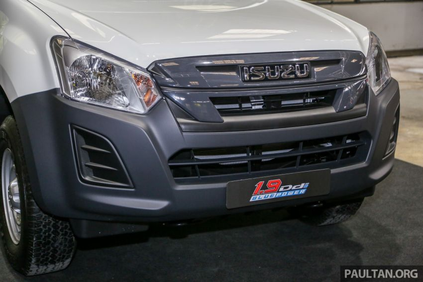 2019 Isuzu D-Max facelift launched in Malaysia – new 150 PS/350 Nm 1.9L Ddi; priced from RM80k-RM121k Image #1017891