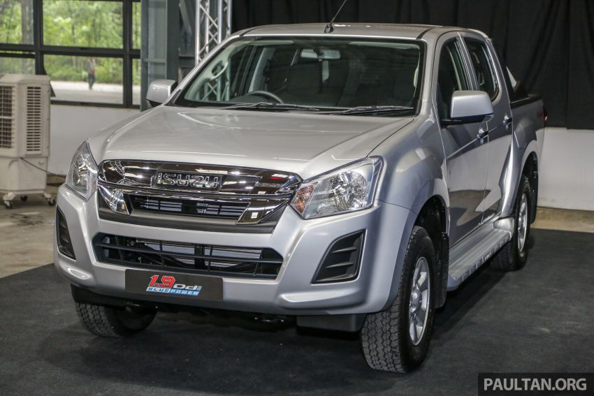 2019 Isuzu D-Max facelift launched – new 150 PS/350 Nm 1.9L Ddi, six airbags for 3.0L, RM80k to RM121k Image #1017914