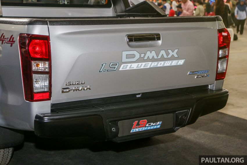 2019 Isuzu D-Max facelift launched – new 150 PS/350 Nm 1.9L Ddi, six airbags for 3.0L, RM80k to RM121k Image #1017929