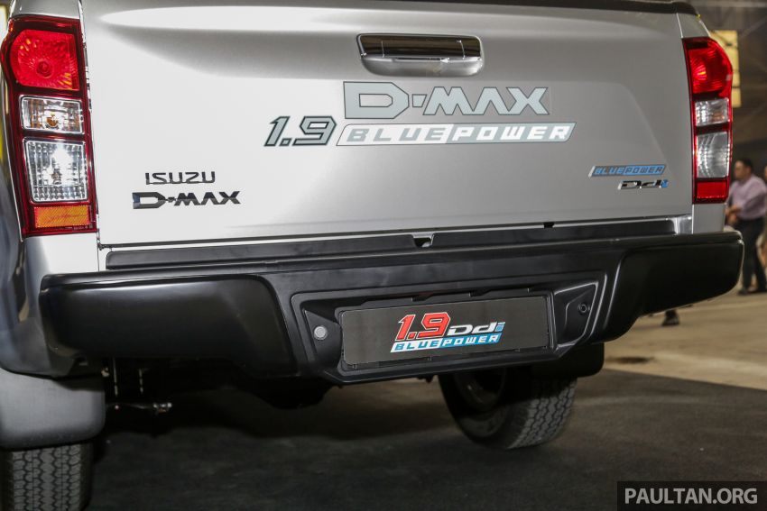 2019 Isuzu D-Max facelift launched in Malaysia – new 150 PS/350 Nm 1.9L Ddi; priced from RM80k-RM121k Image #1017932