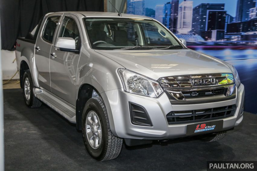 2019 Isuzu D-Max facelift launched – new 150 PS/350 Nm 1.9L Ddi, six airbags for 3.0L, RM80k to RM121k Image #1017915
