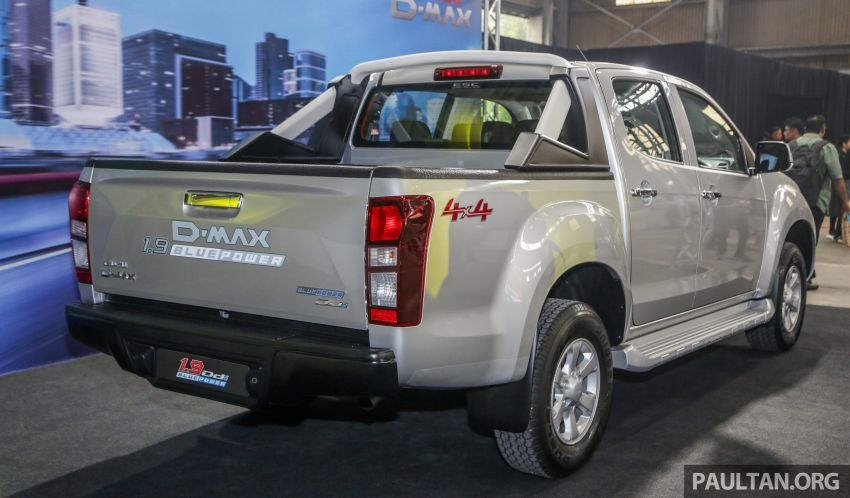 2019 Isuzu D-Max facelift launched in Malaysia – new 150 PS/350 Nm 1.9L Ddi; priced from RM80k-RM121k Image #1017916