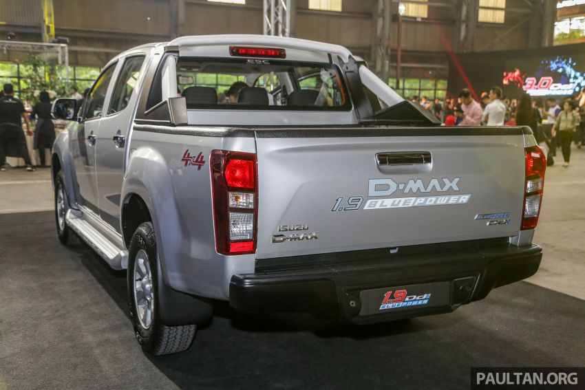 2019 Isuzu D-Max facelift launched – new 150 PS/350 Nm 1.9L Ddi, six airbags for 3.0L, RM80k to RM121k Image #1017917