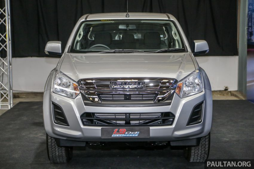 2019 Isuzu D-Max facelift launched – new 150 PS/350 Nm 1.9L Ddi, six airbags for 3.0L, RM80k to RM121k Image #1017918