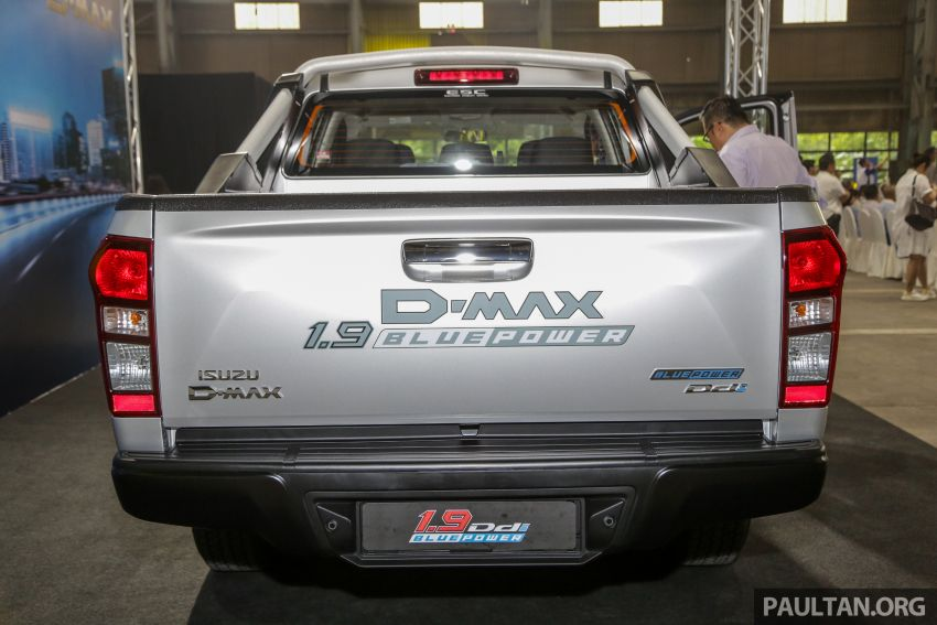 2019 Isuzu D-Max facelift launched – new 150 PS/350 Nm 1.9L Ddi, six airbags for 3.0L, RM80k to RM121k Image #1017919
