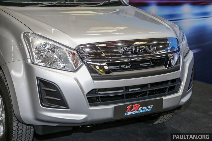 2019 Isuzu D-Max facelift launched – new 150 PS/350 Nm 1.9L Ddi, six airbags for 3.0L, RM80k to RM121k Image #1017921