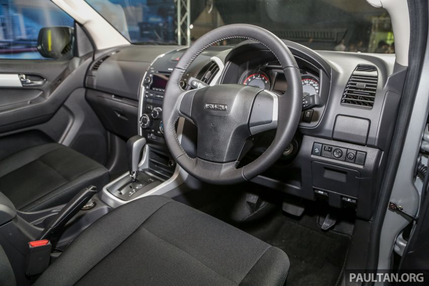 2019 Isuzu D-Max facelift launched – new 150 PS/350 Nm 1.9L Ddi, six airbags for 3.0L, RM80k to RM121k Image #1017938