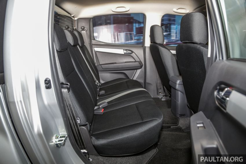2019 Isuzu D-Max facelift launched – new 150 PS/350 Nm 1.9L Ddi, six airbags for 3.0L, RM80k to RM121k Image #1017953