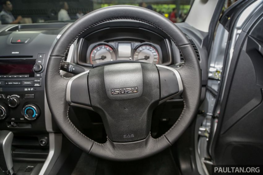 2019 Isuzu D-Max facelift launched – new 150 PS/350 Nm 1.9L Ddi, six airbags for 3.0L, RM80k to RM121k Image #1017941