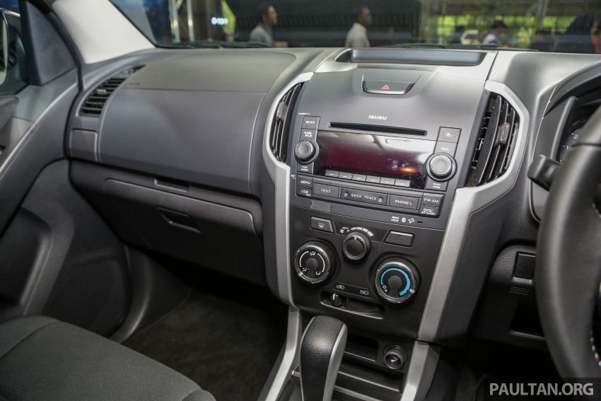 2019 Isuzu D-Max facelift launched – new 150 PS/350 Nm 1.9L Ddi, six airbags for 3.0L, RM80k to RM121k Image #1017943