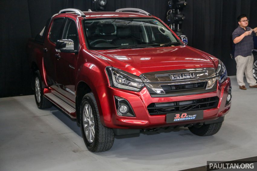 2019 Isuzu D-Max facelift launched – new 150 PS/350 Nm 1.9L Ddi, six airbags for 3.0L, RM80k to RM121k Image #1017112