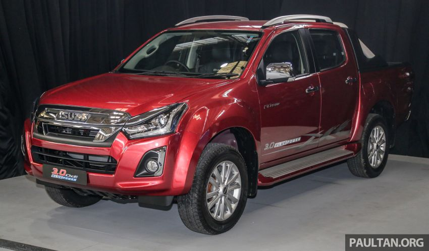 2019 Isuzu D-Max facelift launched – new 150 PS/350 Nm 1.9L Ddi, six airbags for 3.0L, RM80k to RM121k Image #1017113