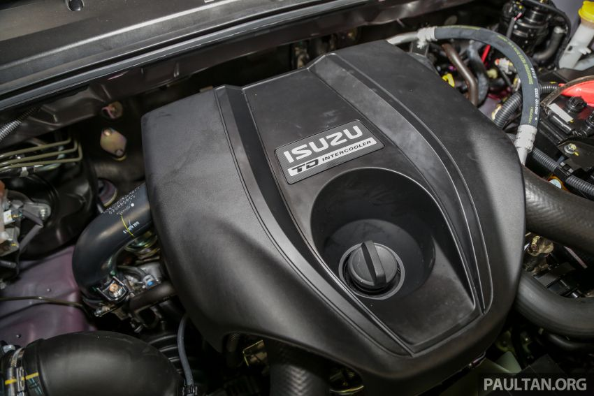 2019 Isuzu D-Max facelift launched – new 150 PS/350 Nm 1.9L Ddi, six airbags for 3.0L, RM80k to RM121k Image #1017135