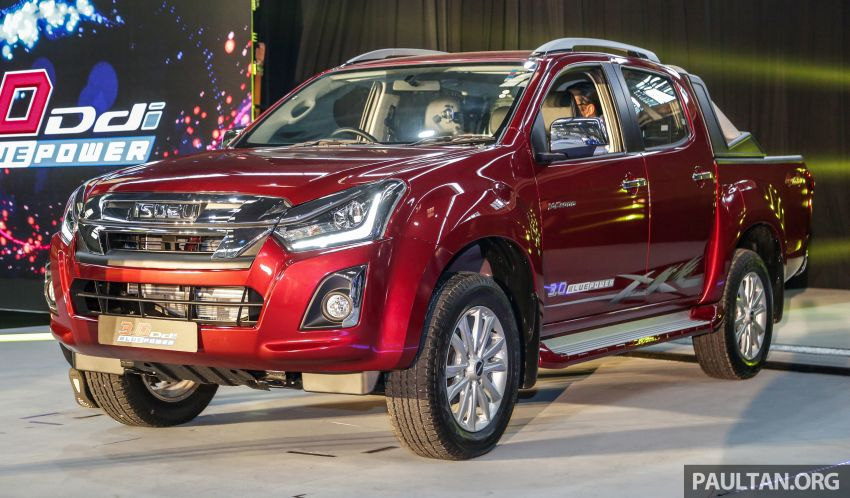 2019 Isuzu D-Max facelift launched – new 150 PS/350 Nm 1.9L Ddi, six airbags for 3.0L, RM80k to RM121k Image #1017965