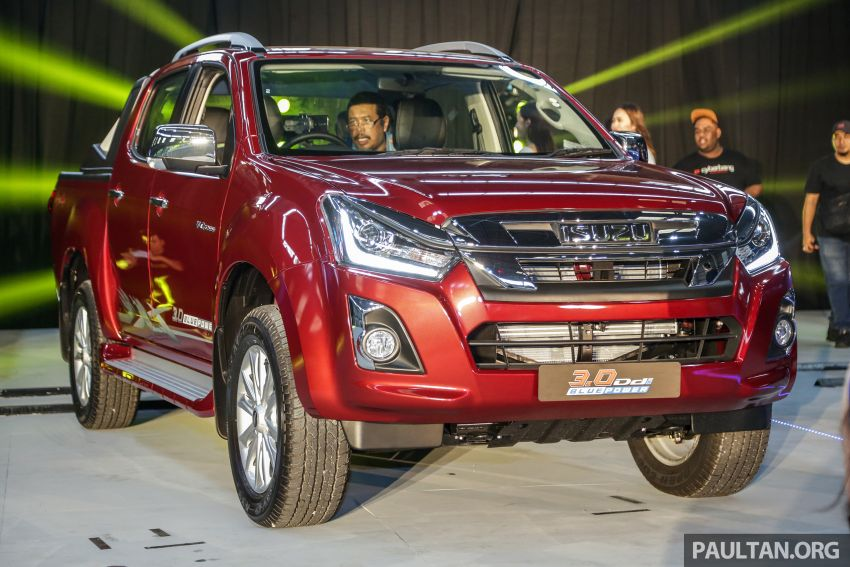 2019 Isuzu D-Max facelift launched – new 150 PS/350 Nm 1.9L Ddi, six airbags for 3.0L, RM80k to RM121k Image #1017966
