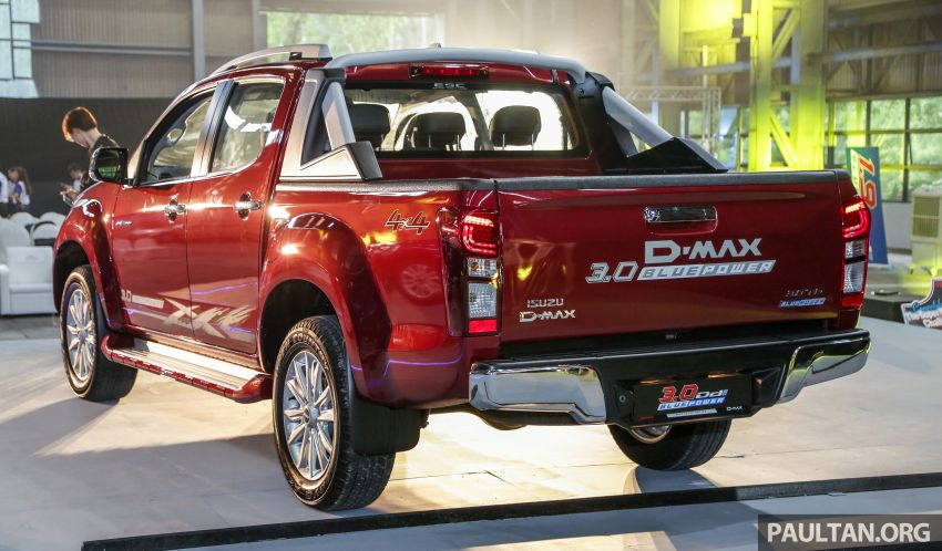 2019 Isuzu D-Max facelift launched – new 150 PS/350 Nm 1.9L Ddi, six airbags for 3.0L, RM80k to RM121k Image #1017967